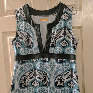Lucy sleeveless tunic